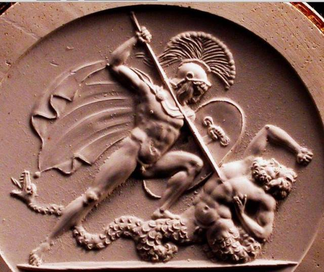 Ares Kills Poseidon's Son