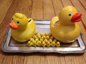 Rubber duckies are my friend.