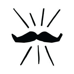 Movember-Campaign-Support-Icon-Mo-Black